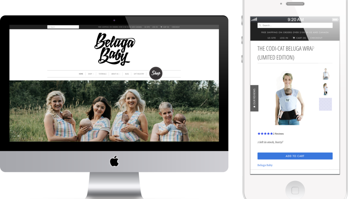 Beluga Baby Digital Marketing project in Scope Creative's Portfolio