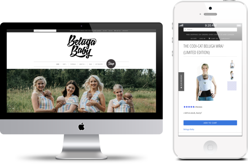 Beluga Baby Digital Marketing project in Scope Creative's Portfolio