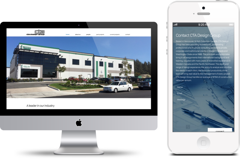 Contact CTA Design Group Digital Marketing project in Scope Creative's Portfolio