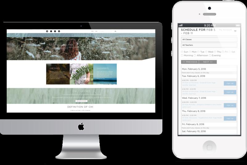 Chi School Digital Marketing project in Scope Creative's Portfolio