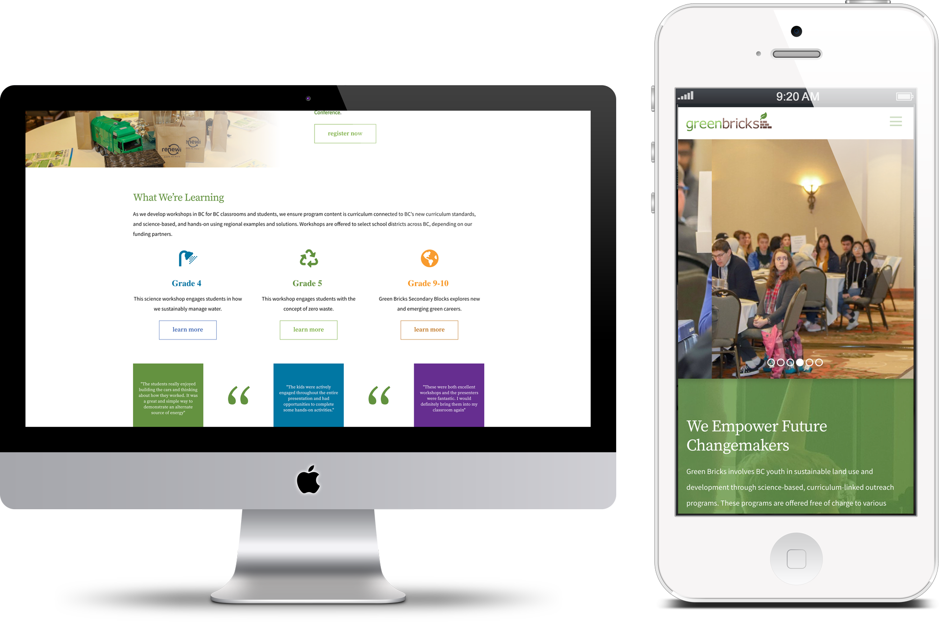 Green Bricks Digital Marketing project in Scope Creative's Portfolio