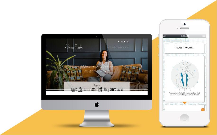 Rebecca Beaton Digital Marketing project in Scope Creative's Portfolio